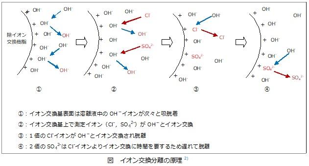イオン交換分離の原理